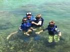 snorkling at Yal Ku Lagoon