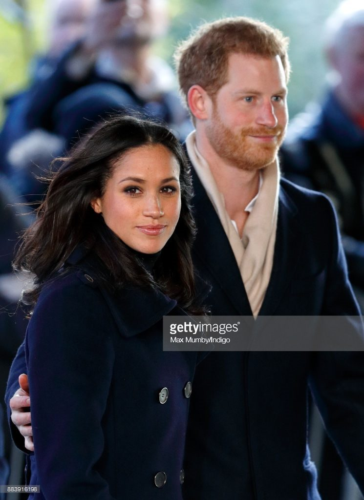 Meghan and Harry Getty Images