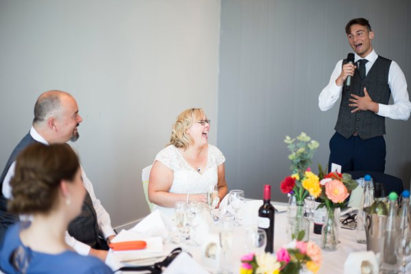 Liverpool city centre wedding. Best mans speech