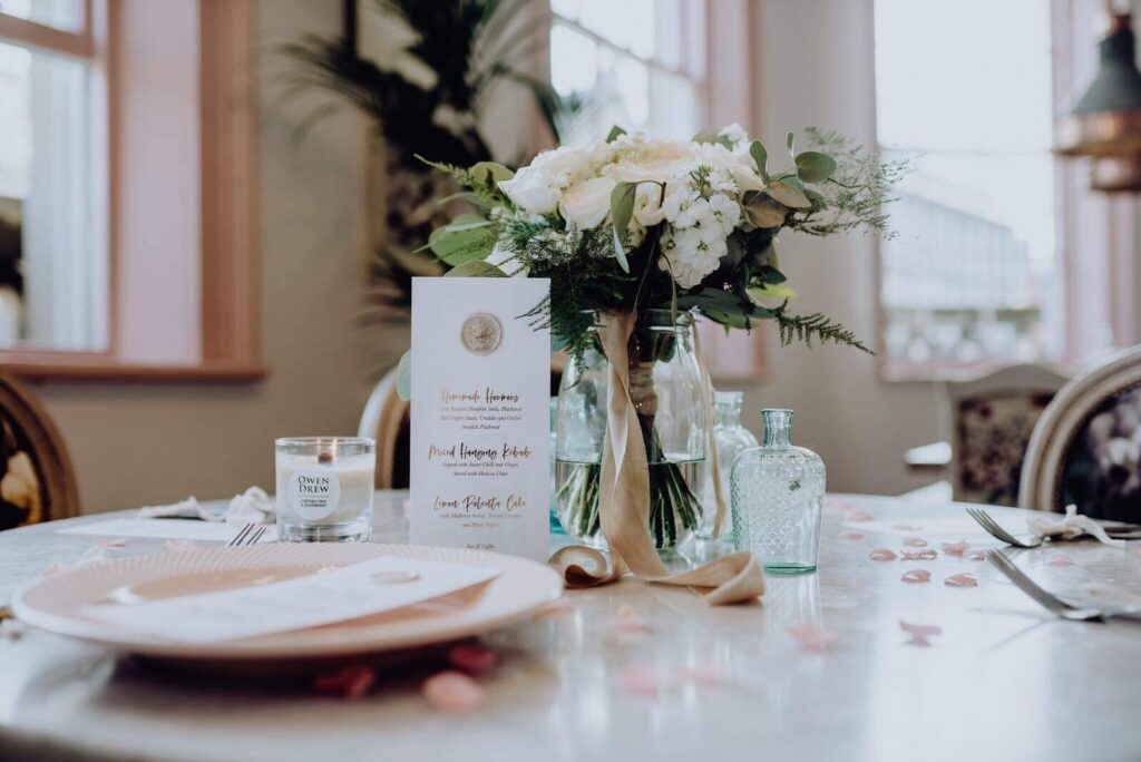 Floral wedding inspiration. The florist Liverpool