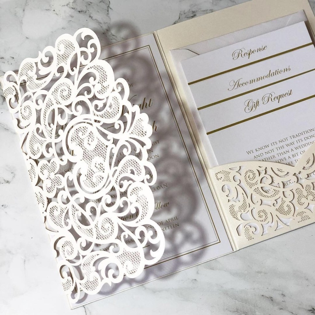 Liverpool wedding invitation