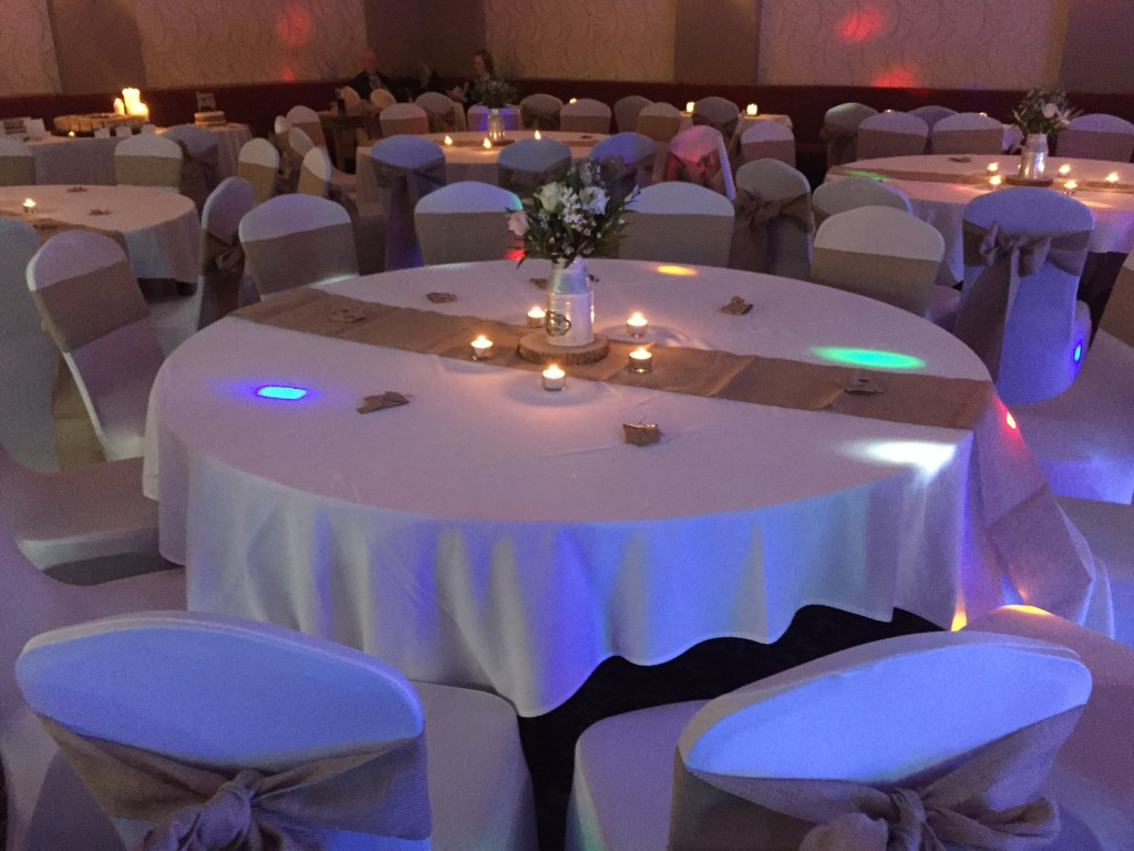 Wedding Decor by Opulence Weddings at The Quarry Woolton Village