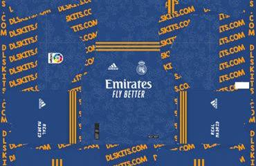 Download Real Madrid 2021-22 Dream League Soccer Kits for DLS 2019 [DLS22]