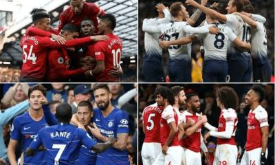 EPL: Check out Table, Top Scorers, Clean Sheets, Assists And Fixtures Ahead Of Match Week 8