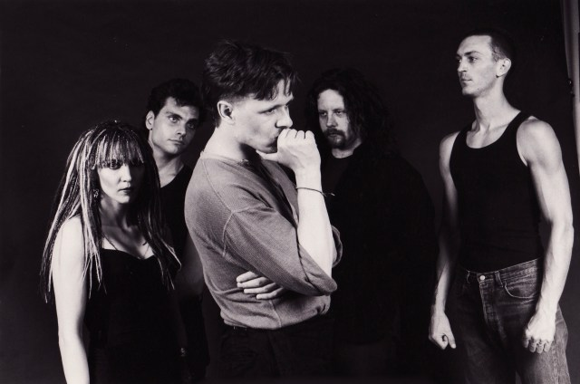 Swans publicity photo, Children Of God era. photo by Laura Levine