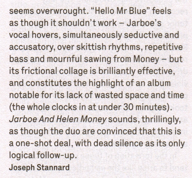 Jarboe & Helen Money_The Wire_review pt2_March 2015 Issue