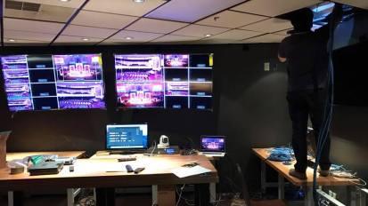 Video Control Room Installation @ Birchman Church