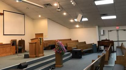 Audio System Installation @ San Antonio Baptist Church