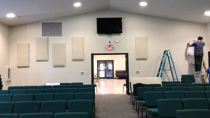 Acoustic Treatment Installation