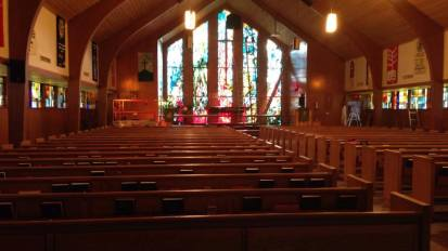 A/V System Installation @ Hilltop Lutheran Church – Houston, TX
