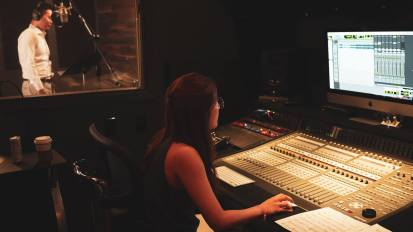 [VIDEO] Vocal M/V Project @ Living Sound Studio