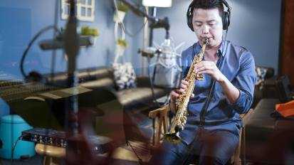 [VIDEO] Saxophone M/V Production @ Living Sound Studio