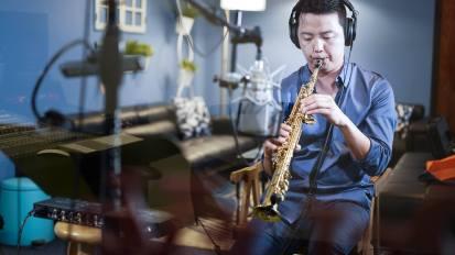 [VIDEO] Saxophone M/V Production @ Living Sound Studio