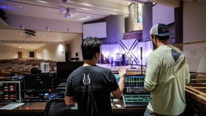 [AV Consultation] Church at the Crossing in Aledo, TX