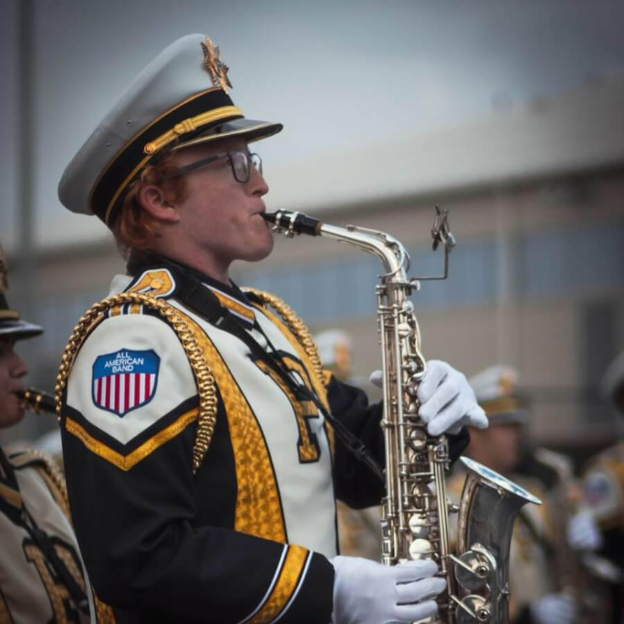 Former BHS drum major leading Purdue's marching band this season