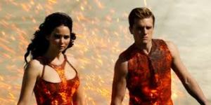 Girl and Boy on Fire - Again (Photo Credit Lionsgate)