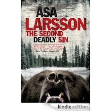 Asa Larsson's Second Deadly Sin, a Rebecka Martinsson Mystery due in August from Quercus Books