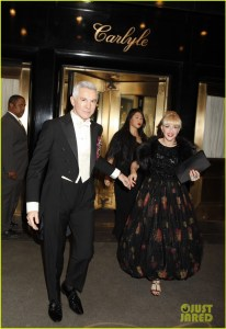 Luhrmann and Martin(Photo by Thos Robinson/Getty Images for The Carlyle)