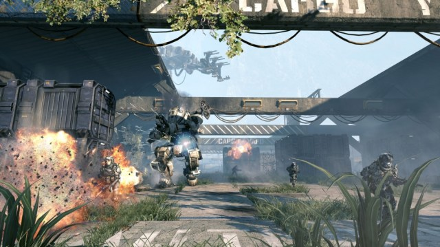 Titanfall boasts fast-paced online gameplay and a peerless parkour system