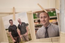 Brendan & Derek from Castlemine Farm and Mark from Joyces Supermarkets