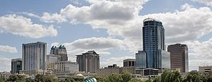 English: Skyline of Downtown Orlando