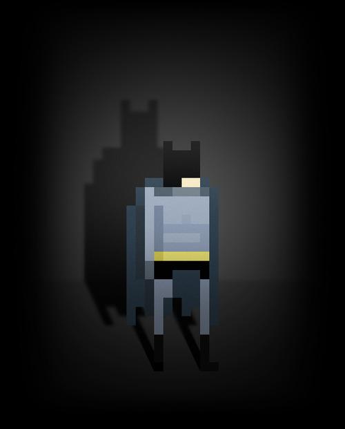 Pixel heroes by Ercan Akka