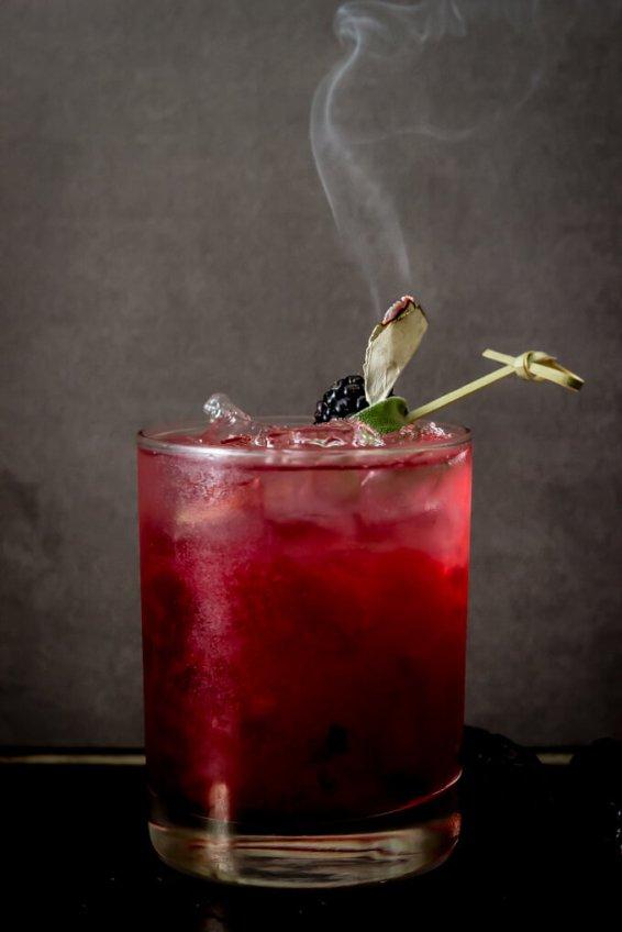 Blackberry-Sage-Margarita