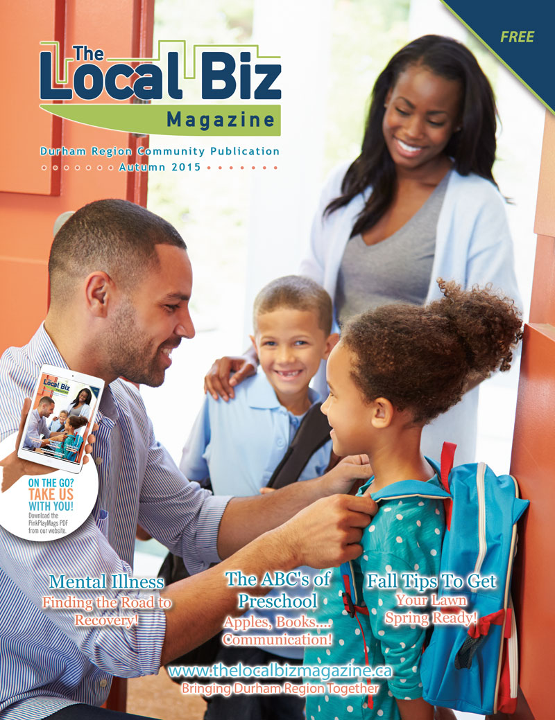 The cover of the Fall edition of The Local Biz Magazine