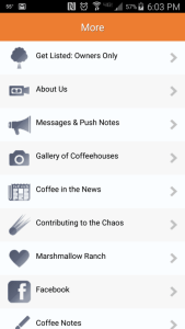 App archives all of your push notes in the More section.