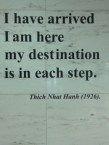 Love this one by Thich Nhat Hanh