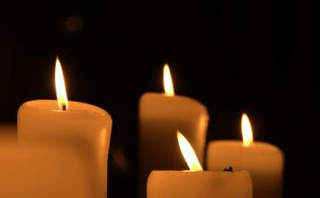 funeral candles - morris