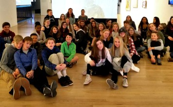 ipswich high school and middle school art students