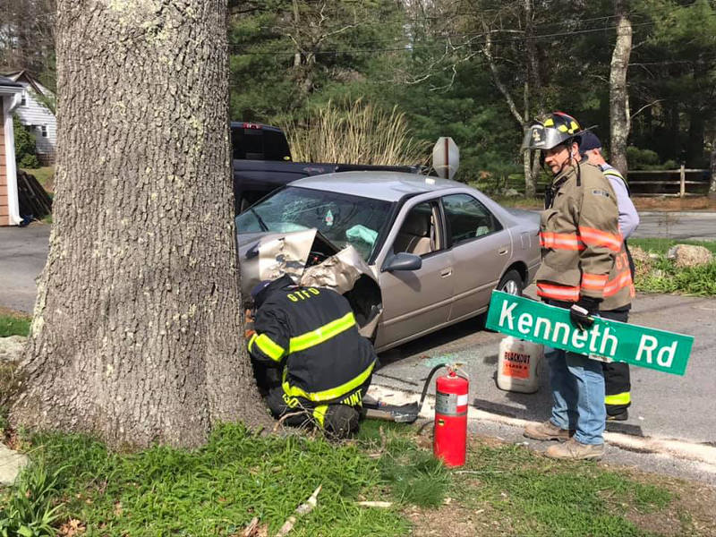 Minor injuries in one Georgetown accident, disruption in