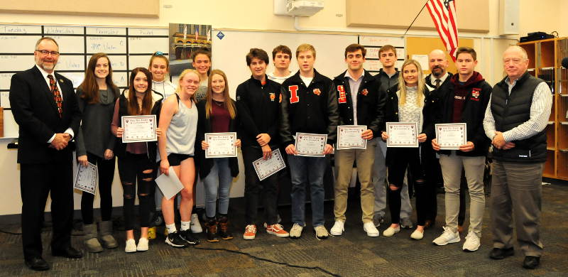 Student athletes honored