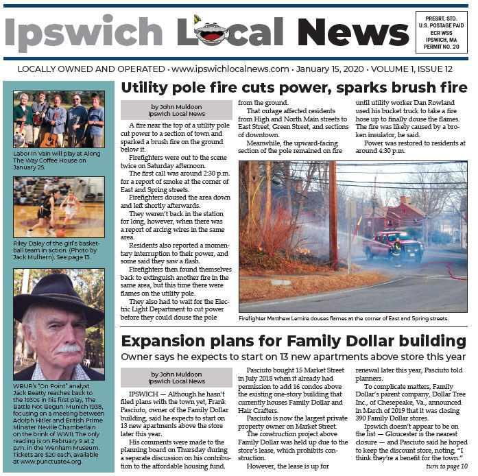 This week's print edition, Jan. 15, 2020