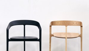 Bow Chair - Local Timber Black - Tom Fereday - Design Archive