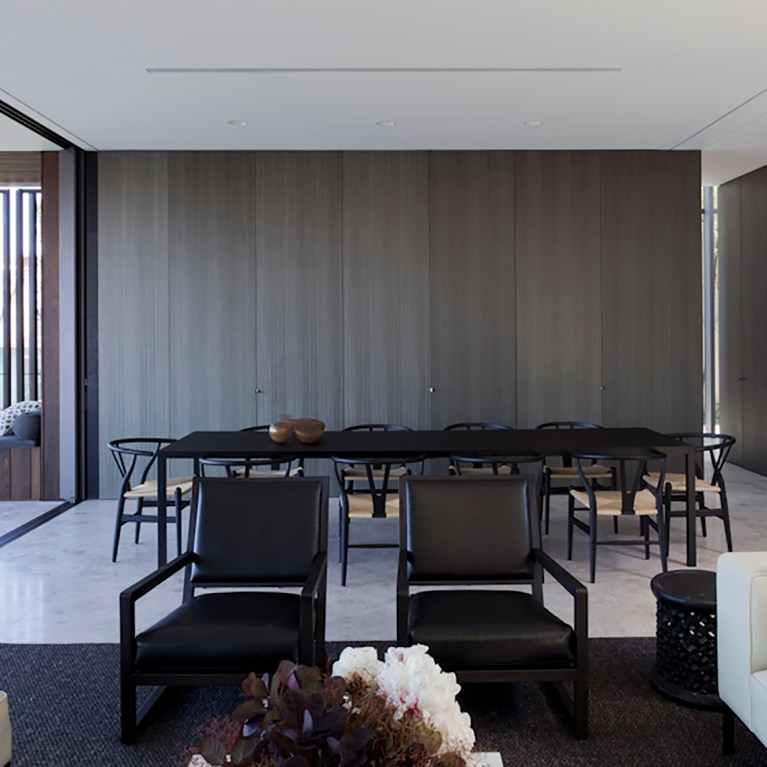Gordon's Bay House - Australian Dining Table - Madeleine Blanchfield Architects - Architecture Archive