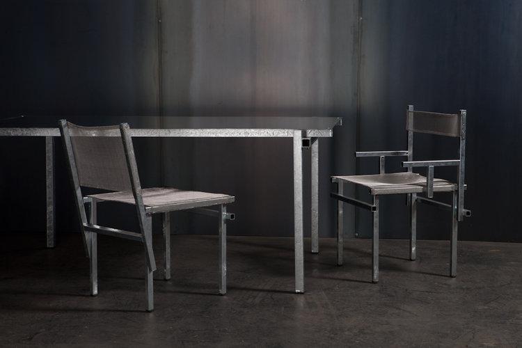Local Australian Home Furniture Product Design-The Galvanised by Michael Gittings Studio
