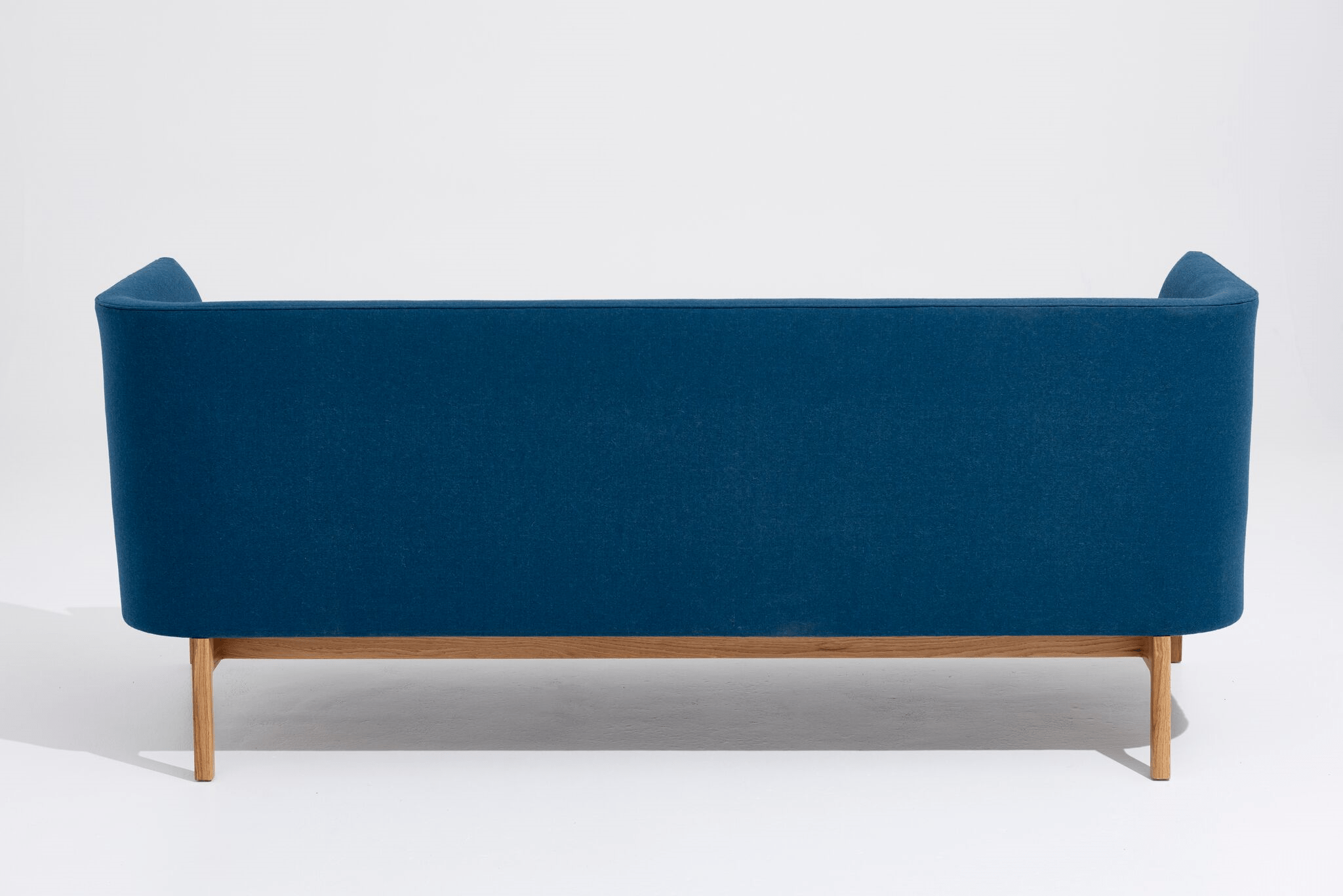 an American Oak base, upholstered hardwood frame and a high resilience foam seat.