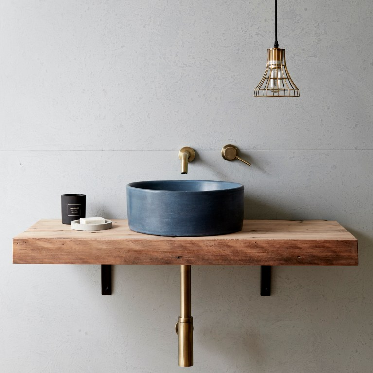 Measurements are approximate as each basin is handmade