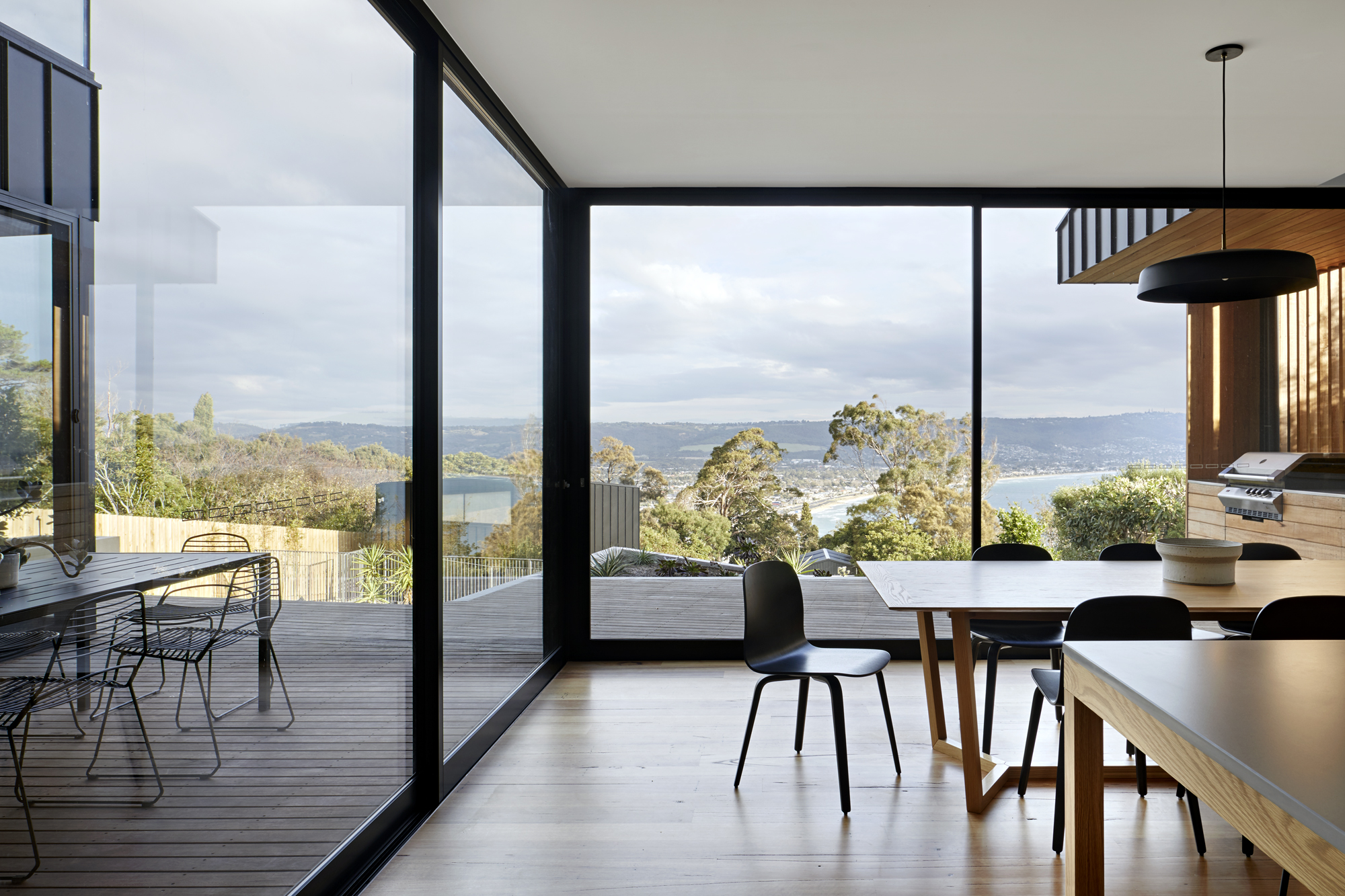 Set On A Rugged Mount Martha Hillside, From The Street The Elevations Of House Mt Are Modest, Bunkered Down Against The Harsh Coastal