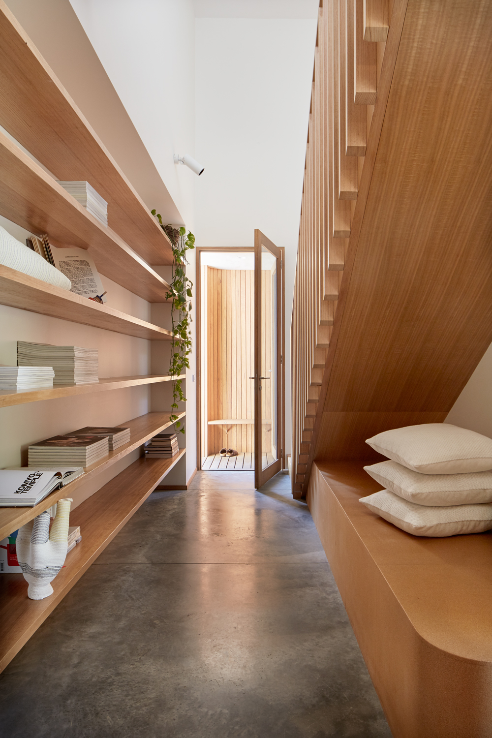Emlyn Olaver Of Olaver Architecture Speaks To Their Process Of Approaching Domestic Life With A Sense Of Flexibility And Preparedness.