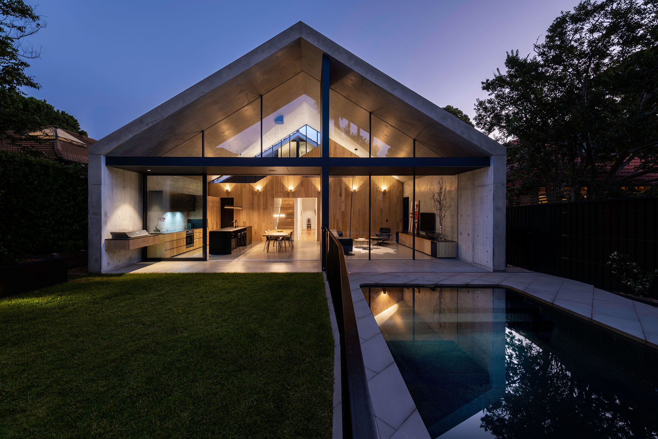 Mck Architecture And Interiors Have Successfully Taken The Traditional Residential Vernacular