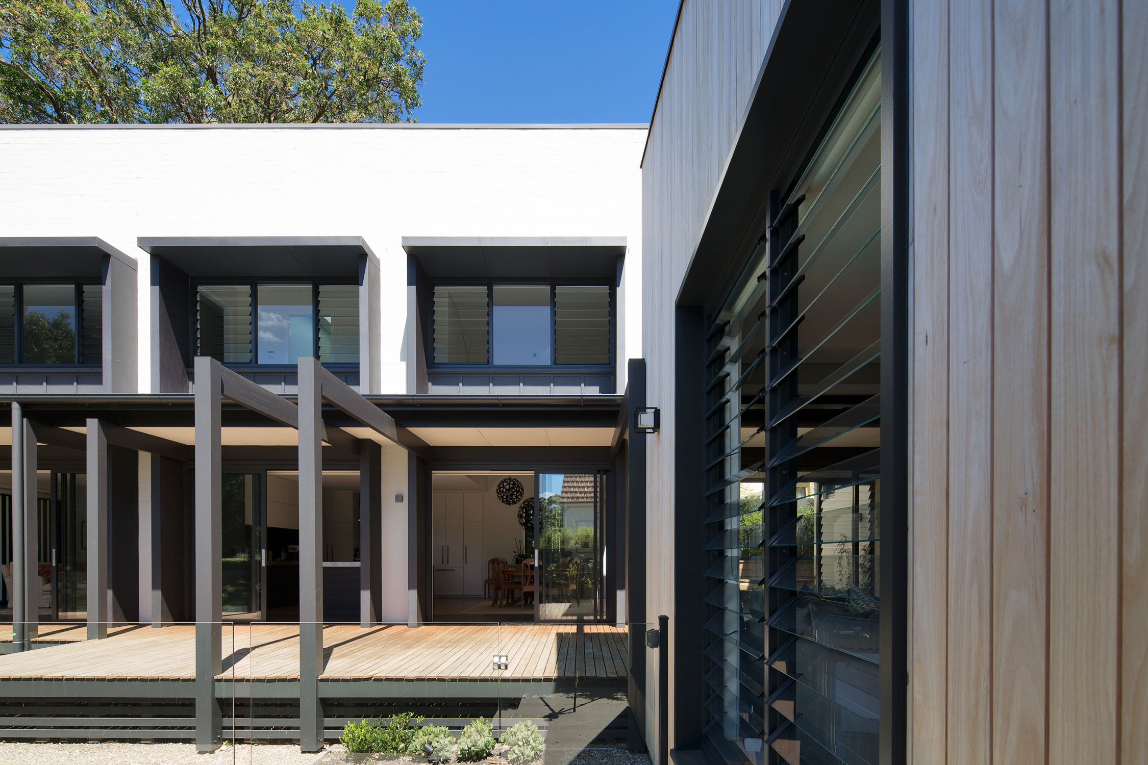Garden House Is A Play On The Gable Style Roof Where A Modest Overall Mass Is Dismantled Into Contextually Appropriate Geometries