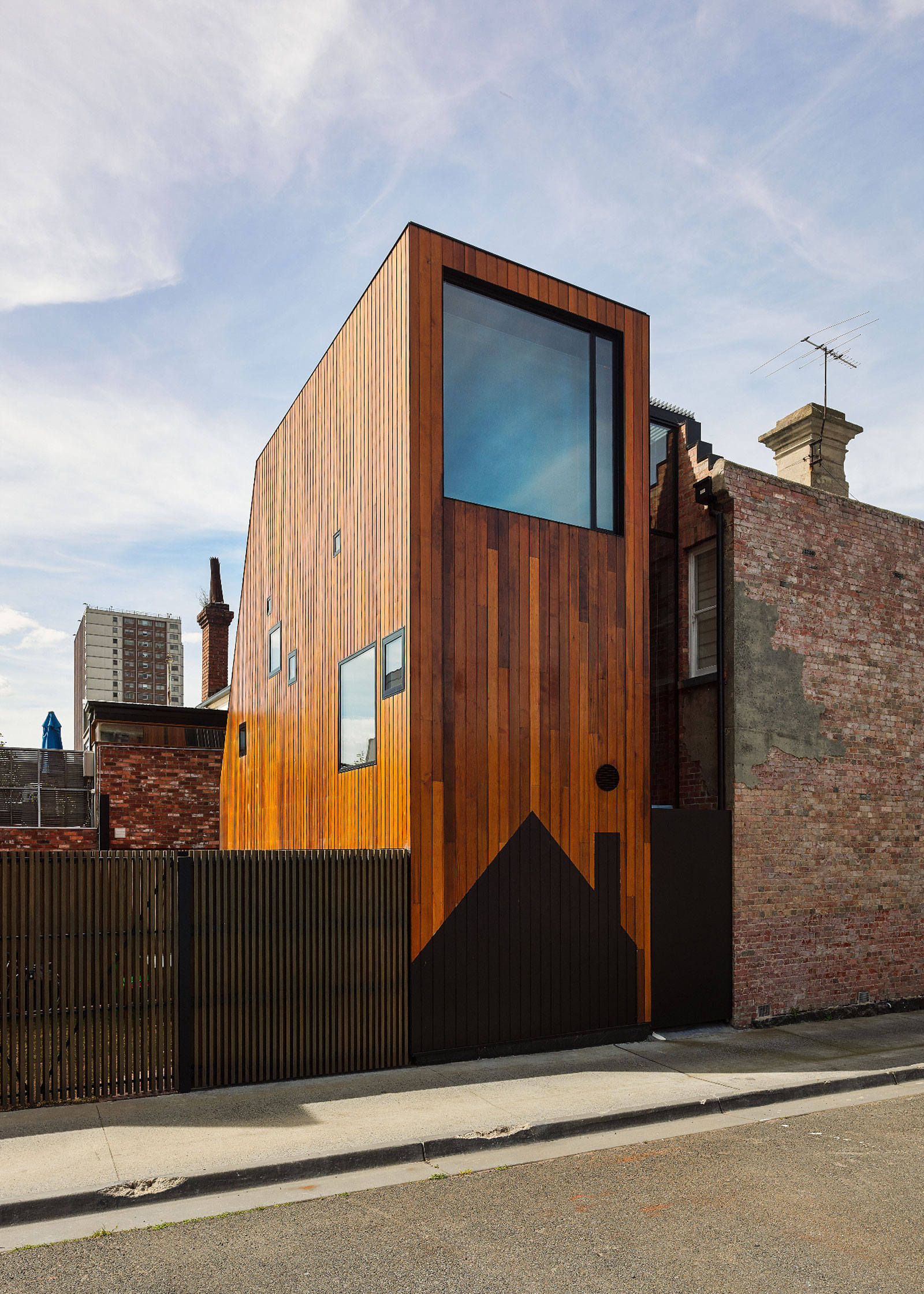The Addition To The Rear, Similar To The Vein Running Through Most Of Austin Maynard Architect's Work, Is Defined By A Sense Of Joviality An