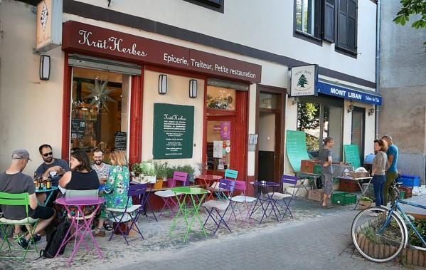 Krüt'Herbes organic restaurant