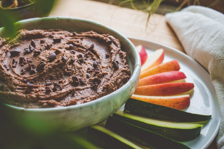 brownie batter hummus recipe
