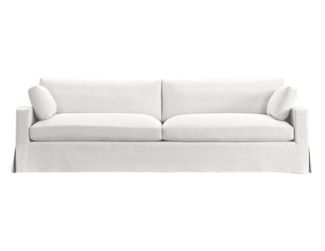 restoration hardware belgian track arm two seat sofa