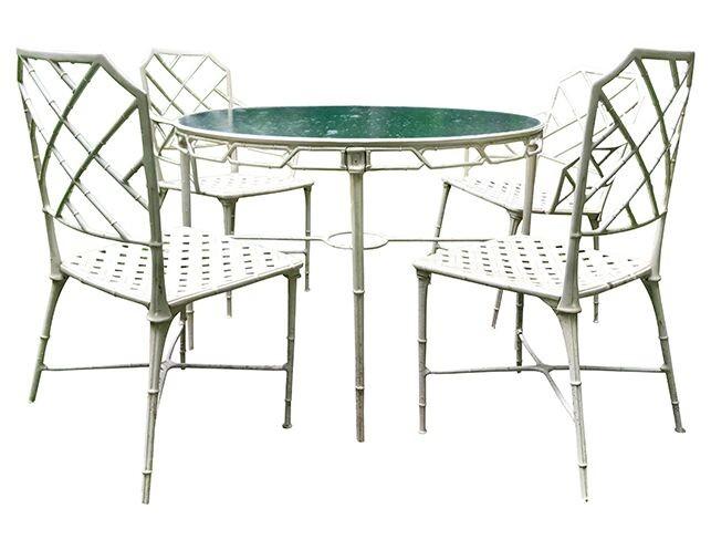 furniture faux bamboo outdoor furniture