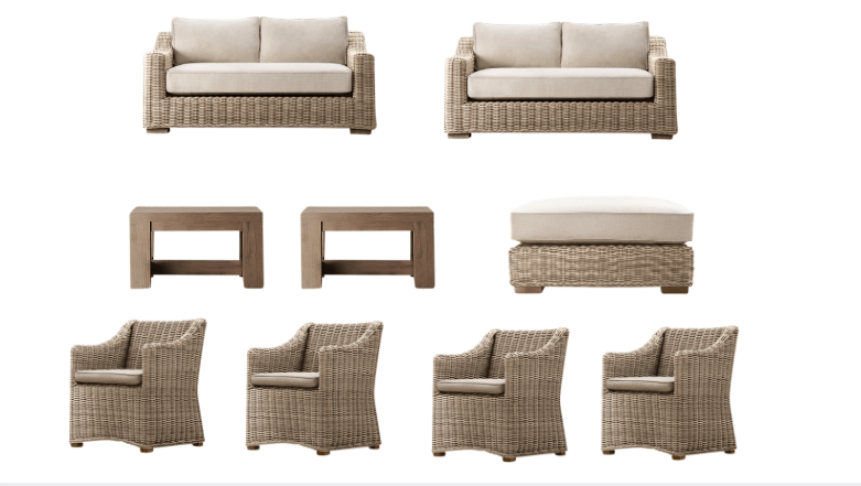 restoration hardware provence collection outdoor furniture